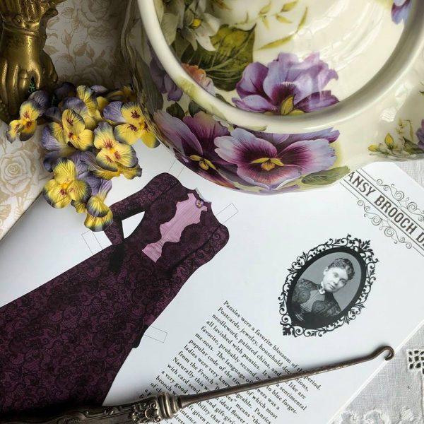 Dressing Miss Lizzie Paper Doll Hollister Press